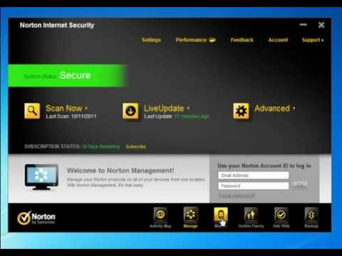 Norton Internet Security 2012 - Quick Look Video Review