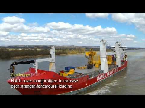 HHL Tokyo – One loaded carousel & spooling tower – 1,718 mt
