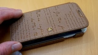 Zenus Lettering Samsung Galaxy S4 Diary Case Review