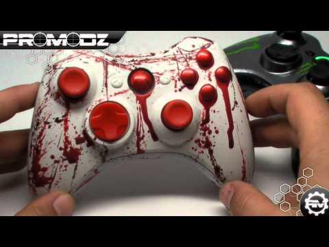 Monster Controller & Murder1 Xpert Custom Modded 360 Controller...
