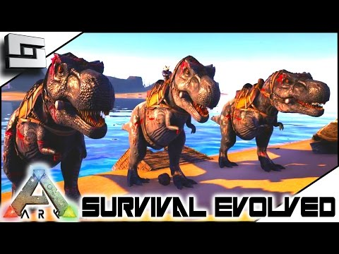 ARK: Survival Evolved - LEVELING UP! S4E26 ( The Center Map Gameplay )