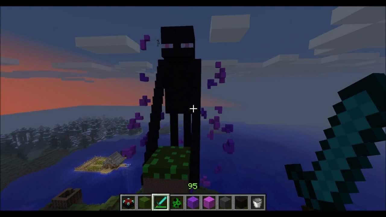 Minecraft Art 11 Giant Enderman YouTube