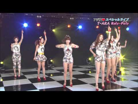 120229 T-ara - Roly Poly Japanese Live video