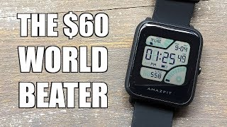 Xiaomi Amazes Again! Huami Amazfit Bip Lite Smartwatch Review c/o BangGood - Perth WAtch #176