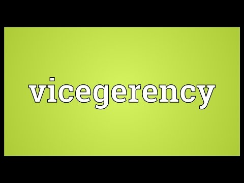 Header of vicegerency