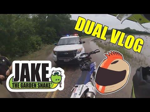 Jake & Dan Dual Motovlog - Part 2
