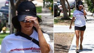 Kourtney Kardashian Takes Time To Get A Facial And Visit A Friend