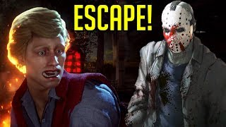 [Friday 13th] HOW TO ESCAPE!