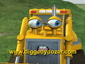 image Diggedy Dozer In Tree Troubles Bulldozer Truck Construction S Cartoons Animated Kids