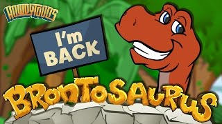 Brontosaurus is Back! | Dinosaur Songs from Dinostory | Dinosaur Videos by Howdytoons
