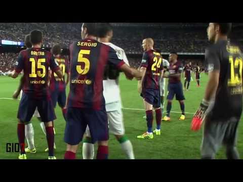 Claudio Bravo (Barcelona) vs Elche (24-08-14)
