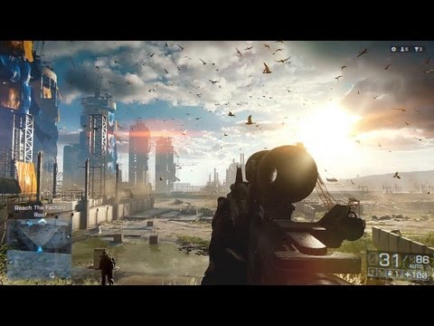 Battlefield 4 Gameplay! (BF4  Singleplayer Campaign  Fishing in Baku Mission PC Xbox Playstation HD)