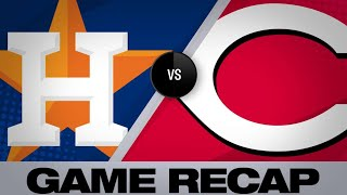 Reds smash 3 homers in 4-3 win | Astros-Yankees Game Highlights 6/18/19