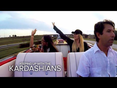 KUWTK | Khloe Kardashian and Malika Haqq Get a Tour of Cuba | E!