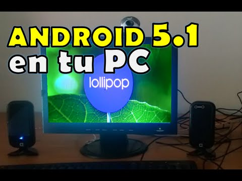 Como Instalar Android 5.1 Lollipop Windows PC Paso A Paso 2015