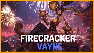 Firecracker Vayne Skin Spotlight - Teaser - League of Legends