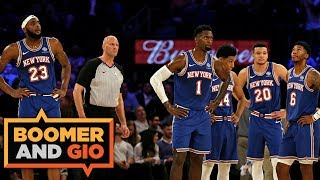 The Nuggets SLAM the Knicks! | Boomer & Gio