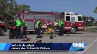 SNN: Motorcyclist injured in Sarasota vehicle accident