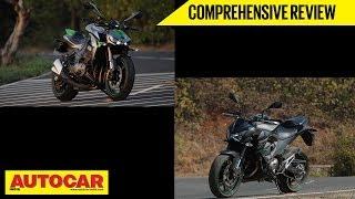 Kawasaki Z1000 and Z800   Comprehensive Roadtest   Autocar India