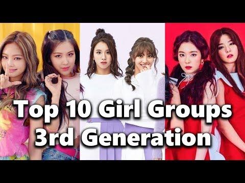 [TOP 10] 3rd Generation Kpop Girl Groups