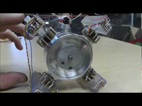 10mw Power Consumption Pulse Motor,Will Run On less than 2V. PMBO 2012 ~Russ's 2nd Entry