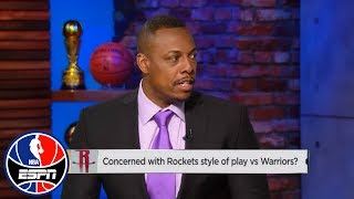 Paul Pierce on Rockets' strategy vs. Warriors: 'Their style is their style' | NBA Countdown | ESPN