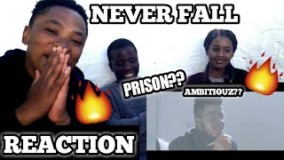 J SMASH - NEVER FALL FEAT. EMTEE (OFFICIAL VIDEO) | REACTION