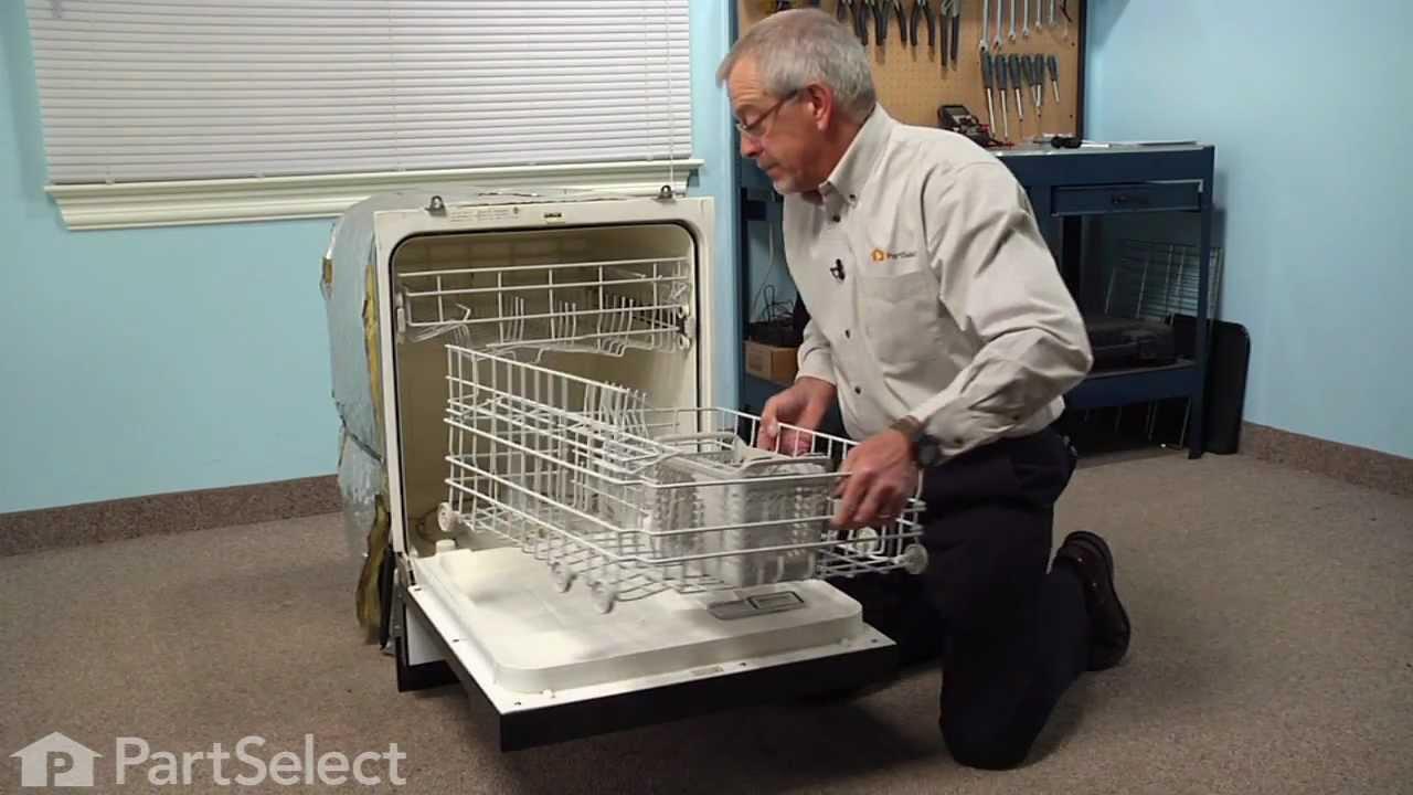 Dishwasher Repair Replacing The Lower Spray Arm Seal