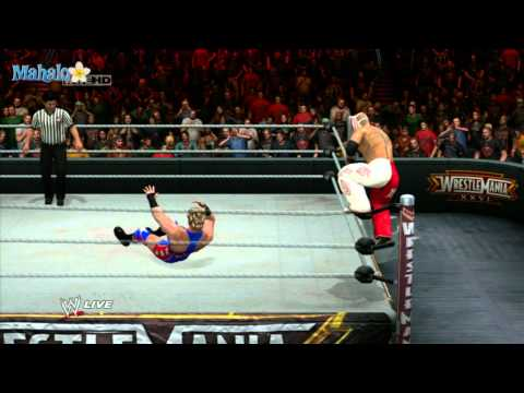 Smackdown Vs Raw 2011 - Road to Wrestlemania - Rey Mysterio Vs Jack Swagger