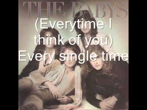 The Babys - Every Time I Think Of You [HQ Audio] + Lyrics
