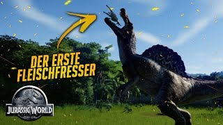 Der erste Fleischfresser | Jurassic World Evolution Let's Play