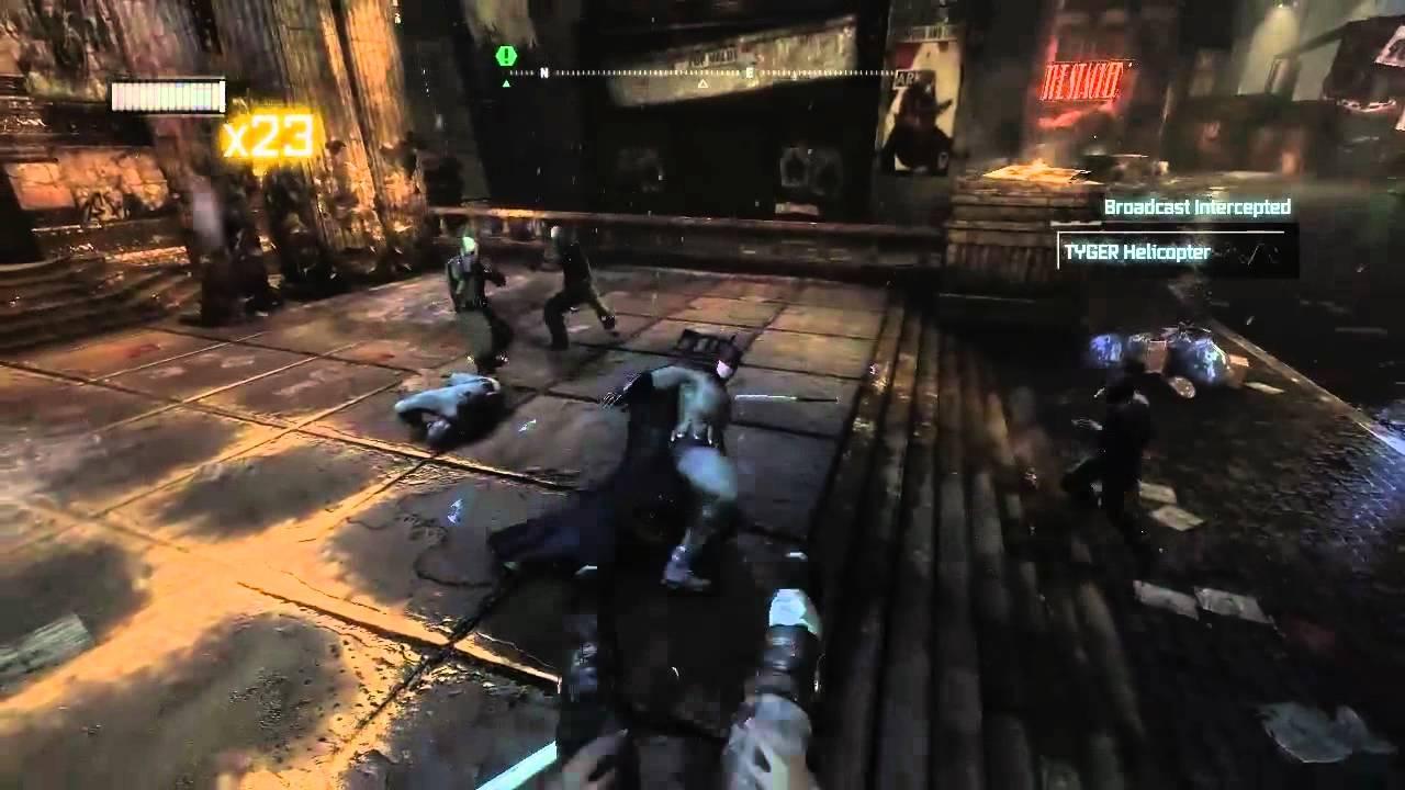 Fuse Xbox 360 Gameplay : Batman arkham city gameplay pc ps xbox wii