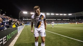 GOAL: Steven Gerrard carves up Real Salt Lake's defense