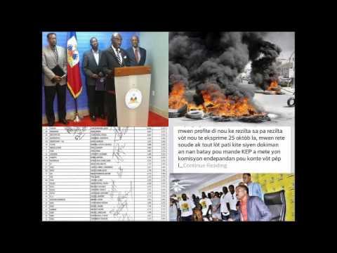 Haiti Elections 2015 : L'ambiance post-électorale, Les dernières décisions du Gouvernemen