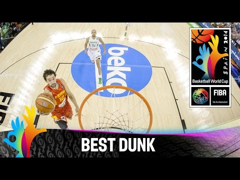 Brazil v Spain - Best Dunk - 2014 FIBA Basketball World Cup