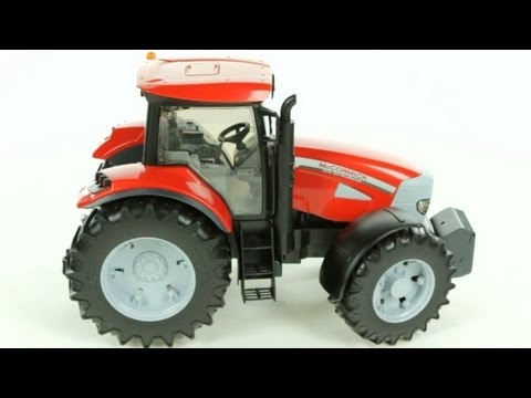 McCormic XTX 165 Tractor with Frontloader (Bruder 03061) - Muffin Songs' Toy Review