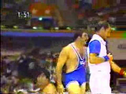 Bruce Baumgartner vs Taskin of tukey in 1984 Olympics