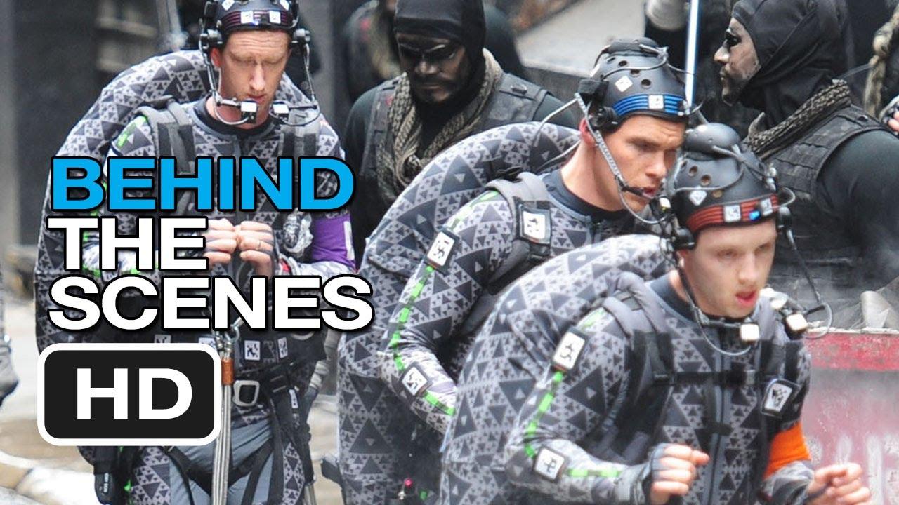 Ninja turtles 2018 behind the scenes
