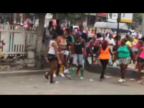 jamaican gays at carnival 2013 doing there thing pt3