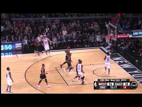 Kyle Korver FULL Highlights 21pts 7 3-pointers in 2015 NBA All Star Game