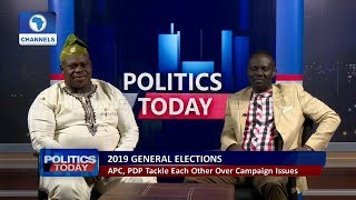 2019: Osinaga, Afegbua Disagree Over The Performance Of APC Led Govt |Politics Today|