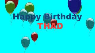 Thad - Dogs Perros - Happy Birthday