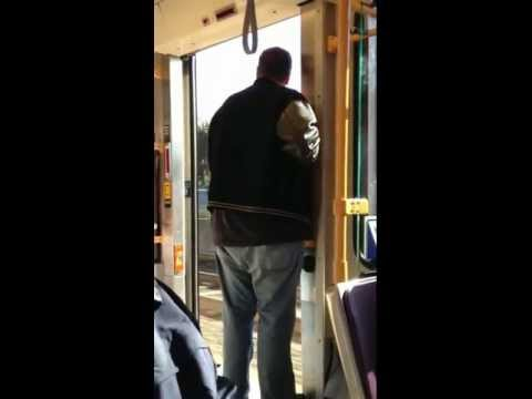 THE DOORS FREAKIN OPEN WHILE THE TRAIN IS MOVING! MUST SEE!