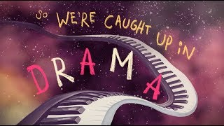 AJR - DRAMA (Lyric Video)