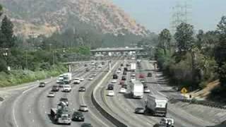 CALIFORNIA INTERSTATE 5 - FREEWAY - CITY OF GLENDALE ( LOS ANGELES)