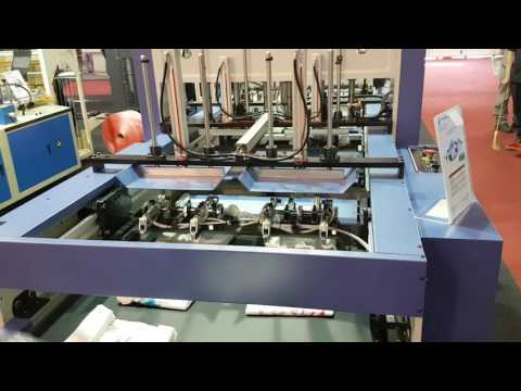 DD-275 P DOUBLE LINES T-SHIRT BAG MACHINE AT ARGENPLAS 2016 IN ARGENTINA