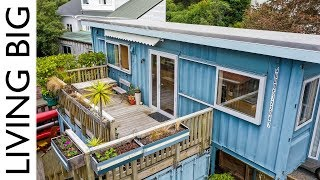 Incredible Shipping Container Home By The Sea Is A Small Space Marvel