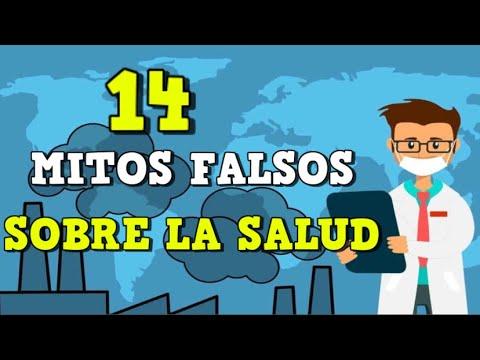 14 Mitos falsos sobre la salud