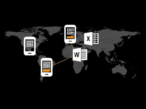 Use a Smartphone as Barcode Scanner for Microsoft Word & Excel