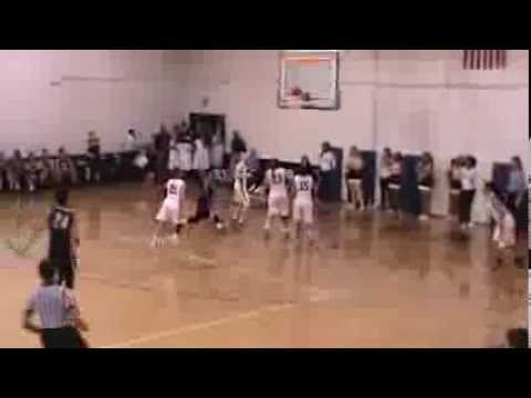 2014 Wingate Women's Basketball - Amber Neely OT game-winner at the buzzer against Coker 2/19/14
